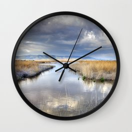 the way for major storms Wall Clock