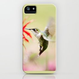 Fancy Hummingbird iPhone Case