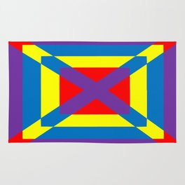 Colorful Square Rug