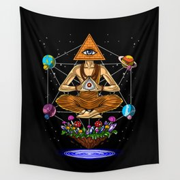 Psychedelic Buddha Wall Tapestry