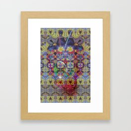 Kaleidoskop Vision Framed Art Print