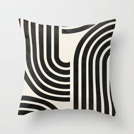 LINE ART - SHAPES 01P Throw Pillow