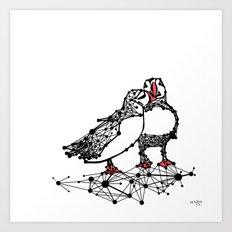the Puffins Art Print