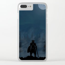 Skyrim | Warriors Landscapes Serries Clear iPhone Case