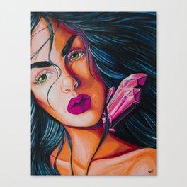 Crystal Lady Canvas Print