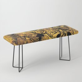 Crushed Skull Drawing Bench