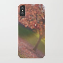 a hint of fall iPhone Case
