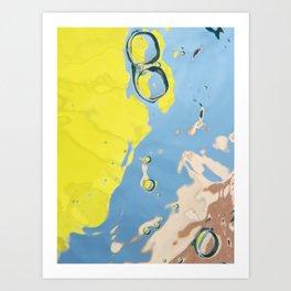 Summer Bubbles v.1 Art Print