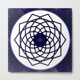 Pure Bliss Abstract Chakra Art Metal Print