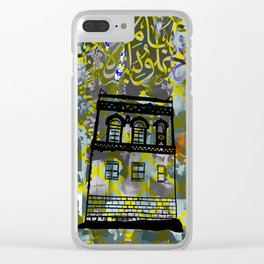 Traditional Yemenite Architecture Clear iPhone Case
