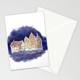 Midnight in Gdańsk Stationery Cards
