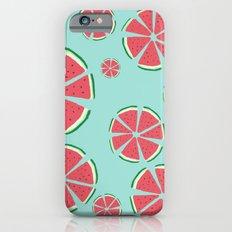 Watermelon flowers Slim Case iPhone 6s