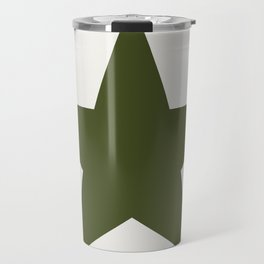 Vintage U.S. Military Star Travel Mug
