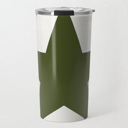 Vintage U.S. Military Star Travel Mug