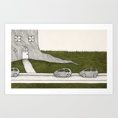 Elf House no. 3 Art Print