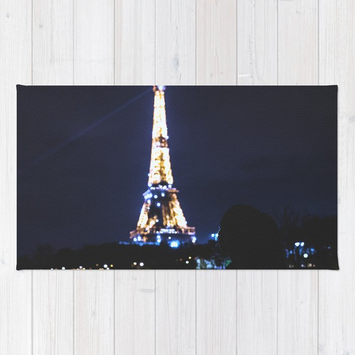 Night over Paris Rug