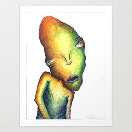 Misunderstood Art Print