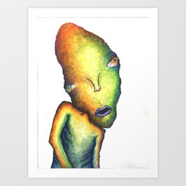 Misunderstood Art Print