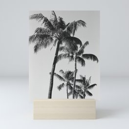 Palm Trees ii // Maui, Hawaii Mini Art Print