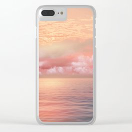Pastel vibes 55 Clear iPhone Case