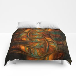 Abstract Totem Comforters