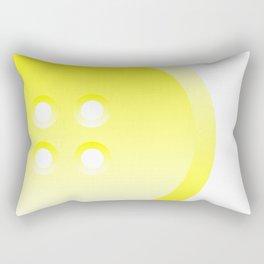 Button (from Design Machine archives) Rectangular Pillow