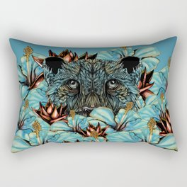 The Tiger and the Flower Rectangular Pillow