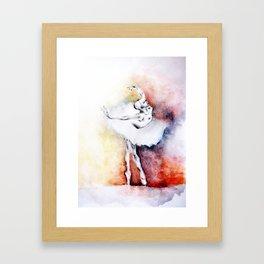 E x h a l e Framed Art Print