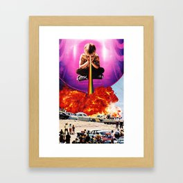 Welcome To The New World IV Framed Art Print