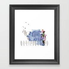 to grow up Framed Art Print