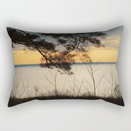 Lake Maury, Newport News, VA Rectangular Pillow