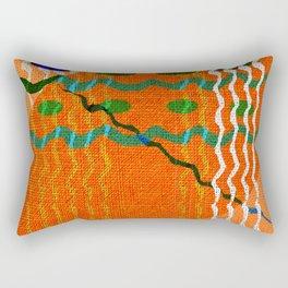 Tribal Fantasy Design Rectangular Pillow