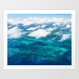 499 - Abstract Aerial Design Art Print