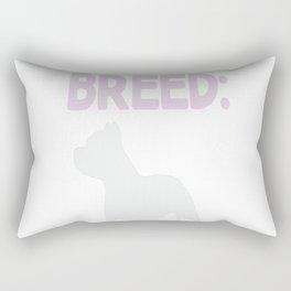 One Dangerous Breed... Rectangular Pillow