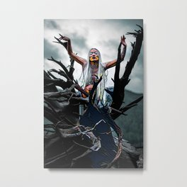 The White Witch Metal Print