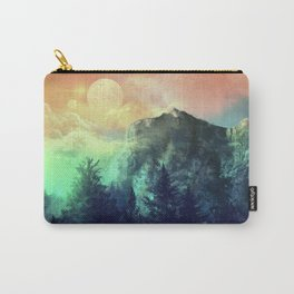 sunset forest 1 Carry-All Pouch