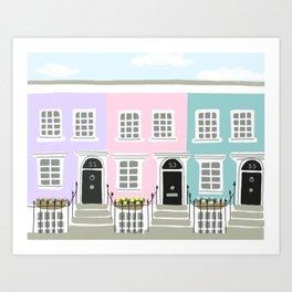 Notting Hill No. 2 Art Print