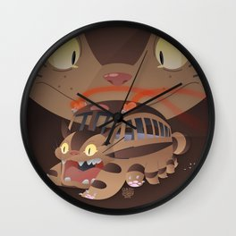 Catbus Wall Clock