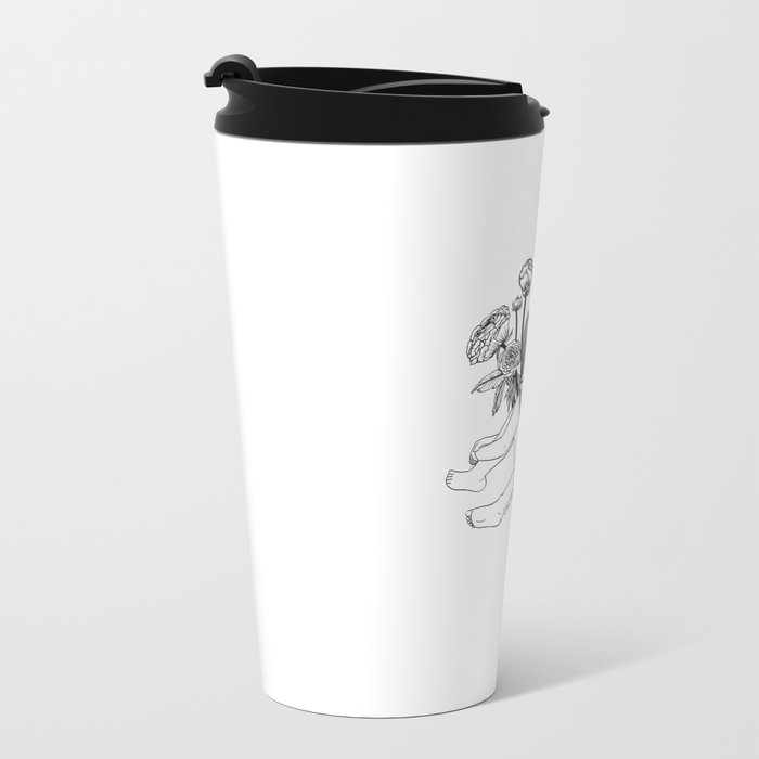 Beautiful Emptiness Metal Travel Mug