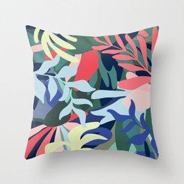 Botanical Balance Throw Pillow