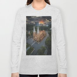 Notre-Dame Cathedral Basilica of Saigon Long Sleeve T-shirt