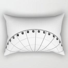 1/2 Ferris Wheel Rectangular Pillow
