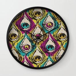 Eyeful/Jewel Wall Clock