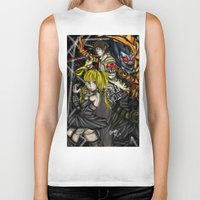 death note Biker Tanks featuring Death Note by SpontaneousOD