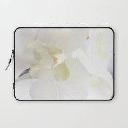 White Lily Flower Laptop Sleeve