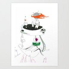 VACANCY Zine - A Dangerous Bedroom Art Print