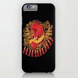 Tattoo Illustration Bird Of Prey Eagle iPhone Case