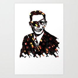 Just Business Art Print