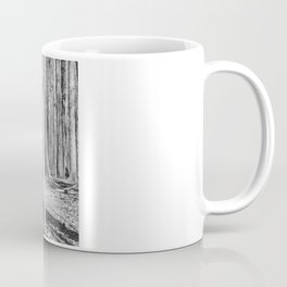 Black And White Disc Golf Basket Coffee Mug