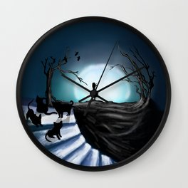 My Part to the Longest Illustration. Wall Clock